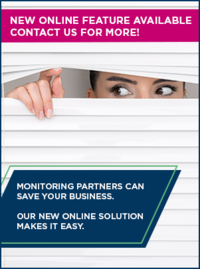 Woman monitoring partner